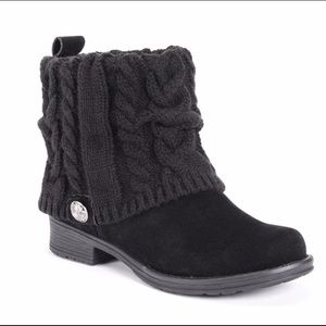 Muk Luks - Pattrice Ankle Boots (NWOT)